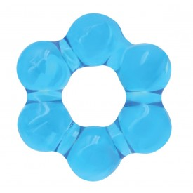 Голубое эрекционное кольцо Spinner Ring