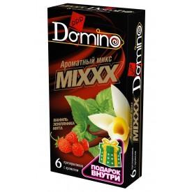 """Ароматизированные презервативы DOMINO """"Ароматный микс"""" - 6 шт."""